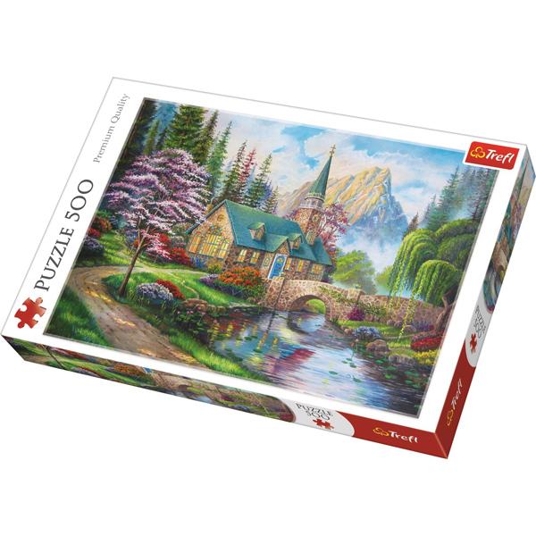 Trefl puzzla Woodland Seclusion 500pcs 37327 - ODDO igračke