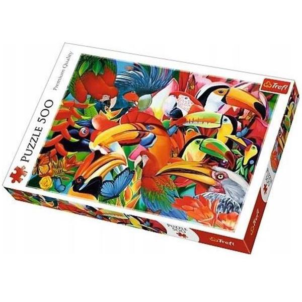 Trefl puzzla Colourfull Birds 500pcs 37328 - ODDO igračke