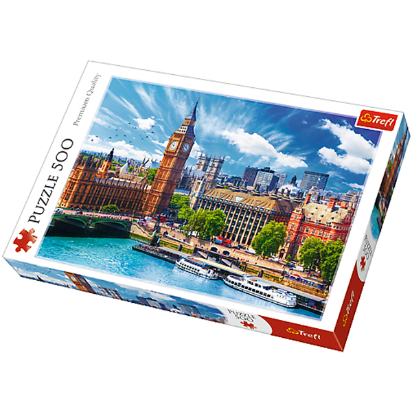 Trefl puzzla Sunny London 500pcs 37329 - ODDO igračke