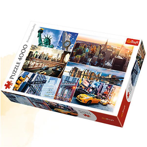 Trefl Puzzle 4000 pcs Collage New York 45006 - ODDO igračke