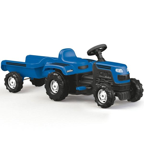 Traktor na pedale sa prikolicom Dolu 080462 - ODDO igračke