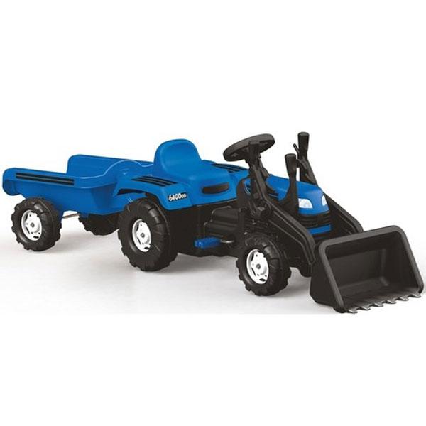 Traktor sa prikolicom i kašikom Dolu 080488 - ODDO igračke