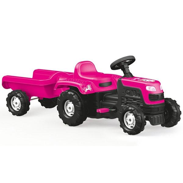 Traktor na pedale sa prikolicom Dolu 025081 - ODDO igračke