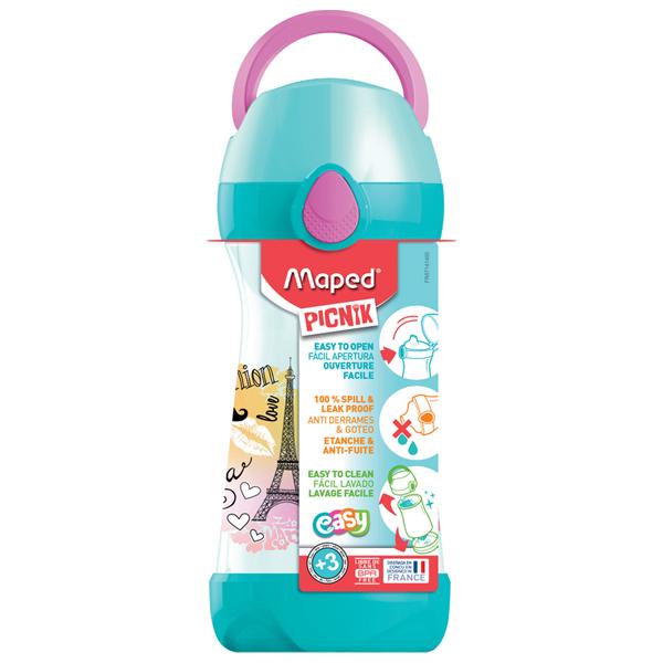 Flaša za vodu Maped CONCEPT 430ml Pariz M871411 - ODDO igračke