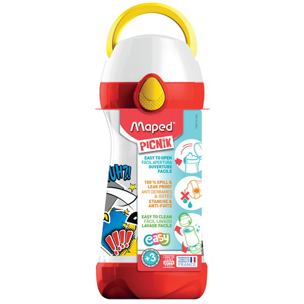 Flaša za vodu Maped CONCEPT 430ml Strip M871412 - ODDO igračke