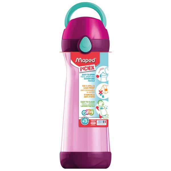 Flaša za vodu Maped CONCEPT 580ml pink M871616 - ODDO igračke