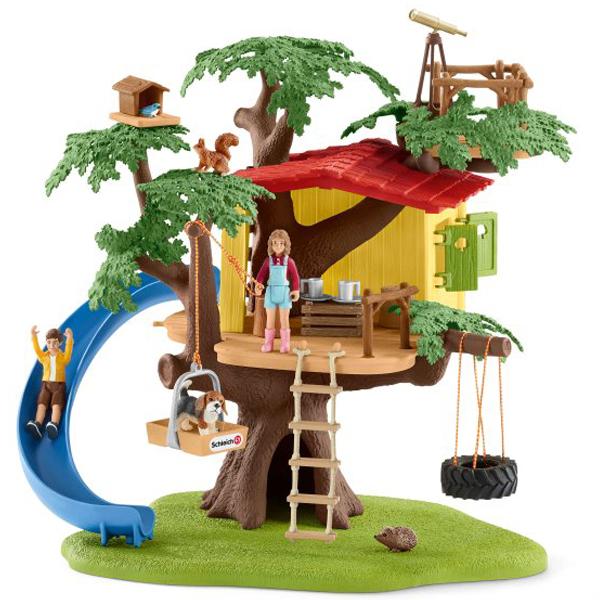 Schleich set kućica na drvetu 42408  - ODDO igračke