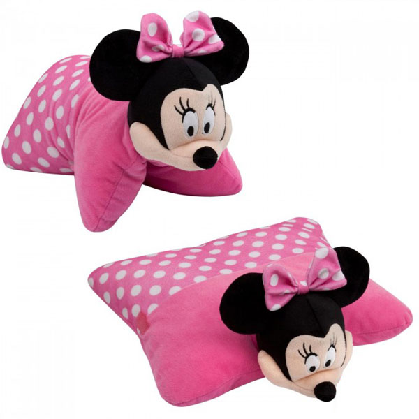 Jastuk pliš Minnie 2u1 40x4cm 60-284000 - ODDO igračke