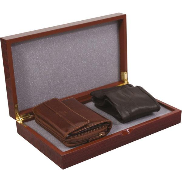 Set kožni ženski 204-2 novčanik+rukavice Fornax braon 401947  - ODDO igračke