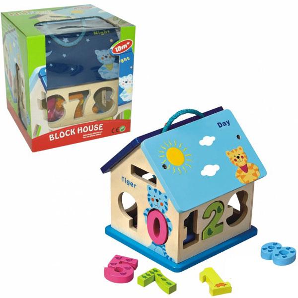 Drvena didaktička slagalica- kocka 64-443000 - ODDO igračke