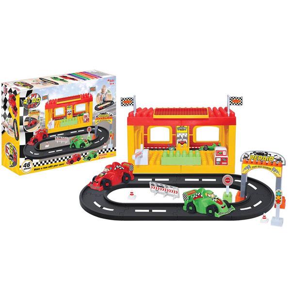 Kocke slagalica Stanica Dede 033212 - ODDO igračke