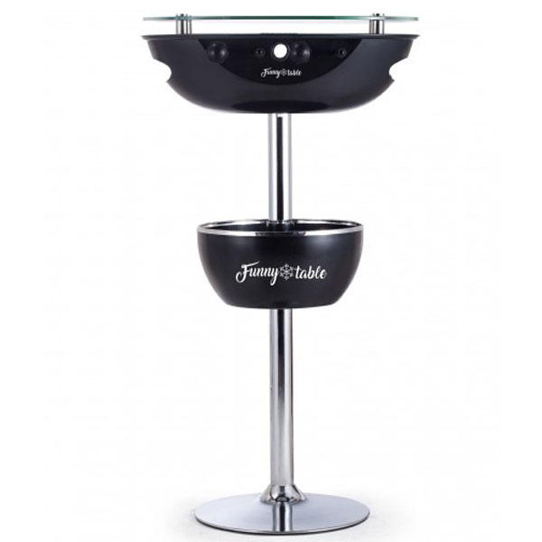 Barski sto Funny table sa stonim fudbalom crni R1001 - ODDO igračke