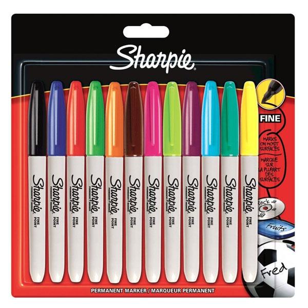 Sharpie set markera Fine sort 12/1 blister S0811070 - ODDO igračke