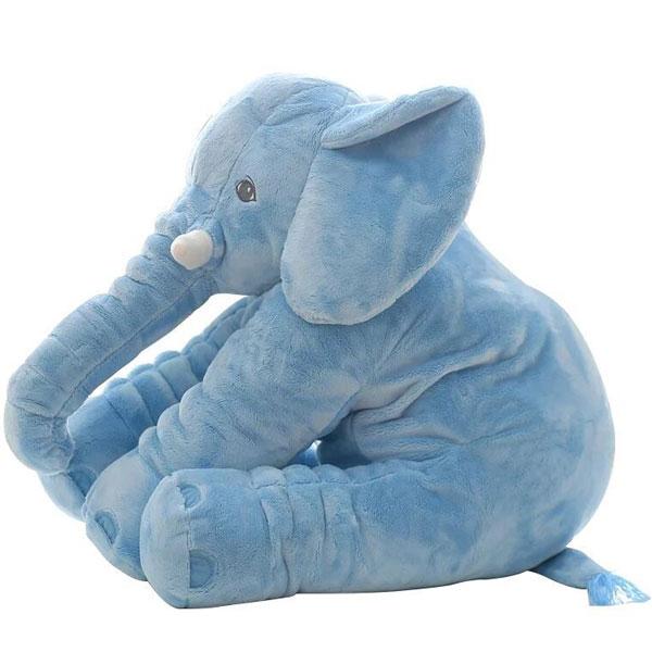 Pliš Slon jastuk 60cm plavi 776987 - ODDO igračke