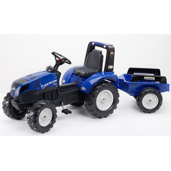 Traktor Falk na pedale sa prikolicom New Holland 3090b - ODDO igračke