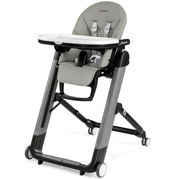 Stolica za hranjenje Siesta Follow Me Ambiance Grey Peg Perego P3510051367 - ODDO igračke