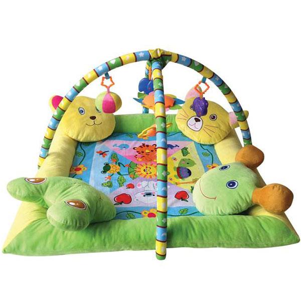Podloga za igru sa 4 Jastučeta 88x88 10300360000 - ODDO igračke