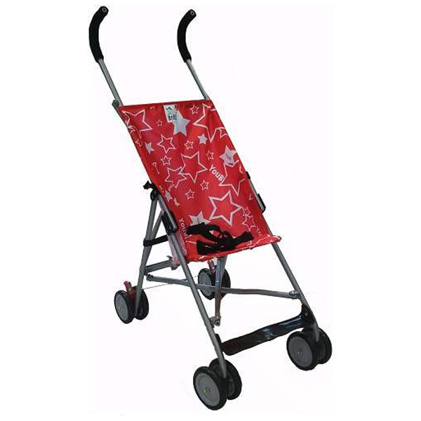 Baby Boss Kolica Little Stars Red H208RED - ODDO igračke