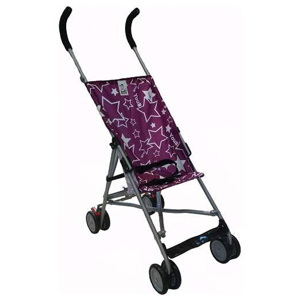 Baby Boss Kolica Little Stars Violet H208VIOLET - ODDO igračke