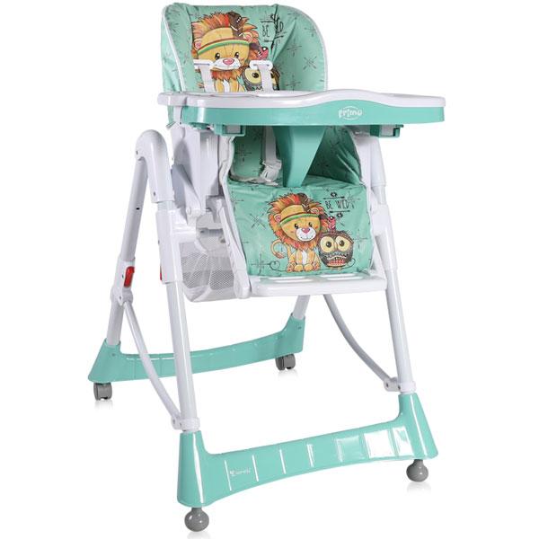 Stolica za hranjenje Primo Green Indians 2019 Bertoni 10100051920 - ODDO igračke