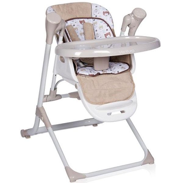 Stolica za hranjenje Ventura Beige 2019 Bertoni 10100301902 - ODDO igračke
