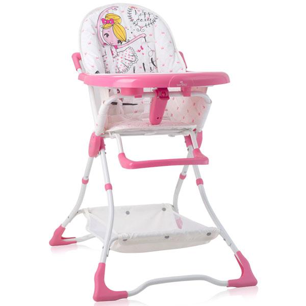 Stolica za hranjenje Bonbon Pink Ballet 2019 Bertoni 10100311933 - ODDO igračke