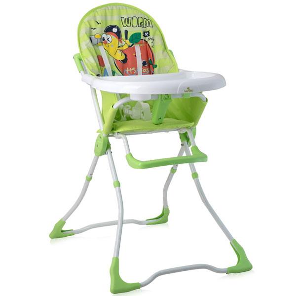 Stolica za hranjenje Marcel Green Worm 2019 Bertoni 10100321926 - ODDO igračke
