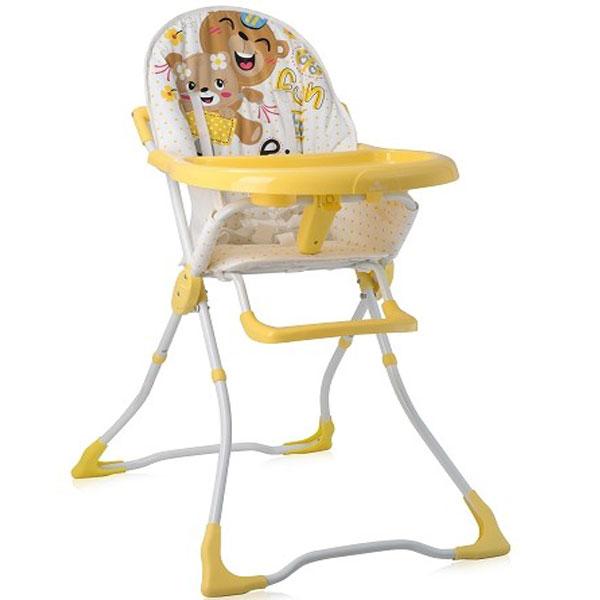 Stolica za hranjenje Marcel Yellow Bears 2019 Bertoni 10100321930 - ODDO igračke