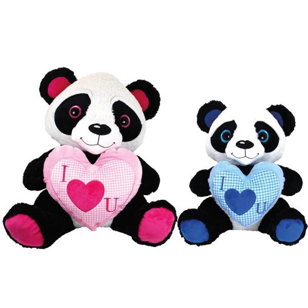 Pliš Panda sa srcem 40cm  11/2786 - ODDO igračke