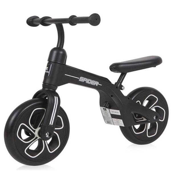 Bicikla za decu Balance Bike Spider Bertoni black 10050450009 - ODDO igračke