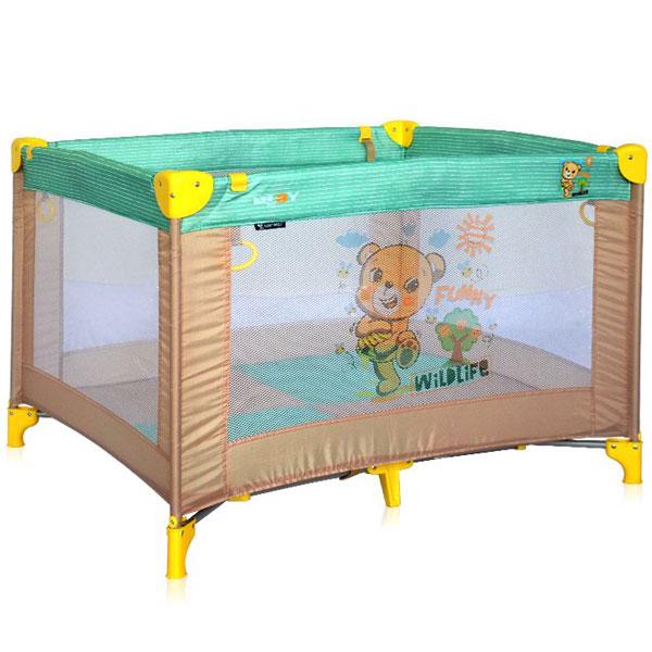 Ogradica Play Beige&Green Honey Bear Bertoni 10080051947 - ODDO igračke