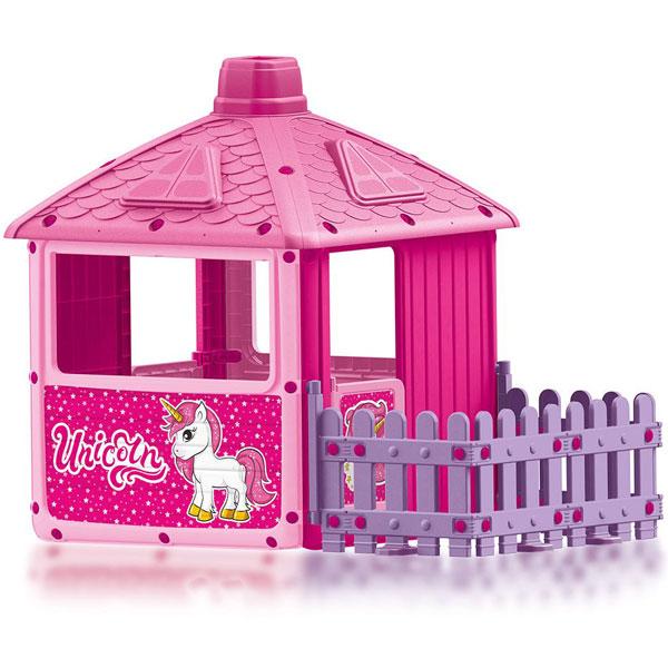 Kućica za decu sa ogradom Unicorn Dolu 025111 - ODDO igračke