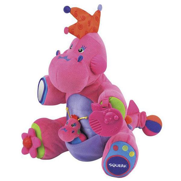 Plišana igračka Ružičasti Dino u akciji KA10579 - ODDO igračke