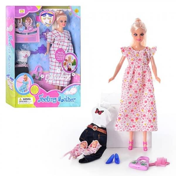 Lutka Defa Mama sa bebama 3ass 8009  - ODDO igračke