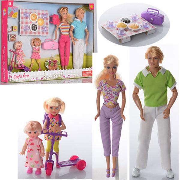 Lutka Defa porodica na izletu 2ass 8301 - ODDO igračke