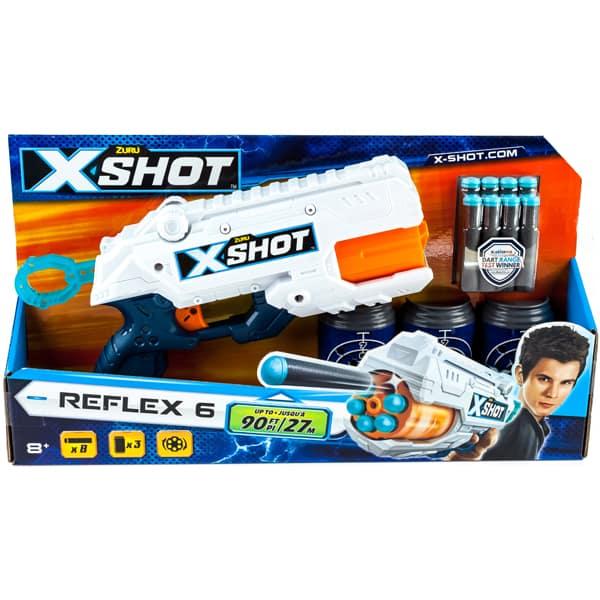 Pištolj Zuru X-Shot Reflex 6 22365 - ODDO igračke