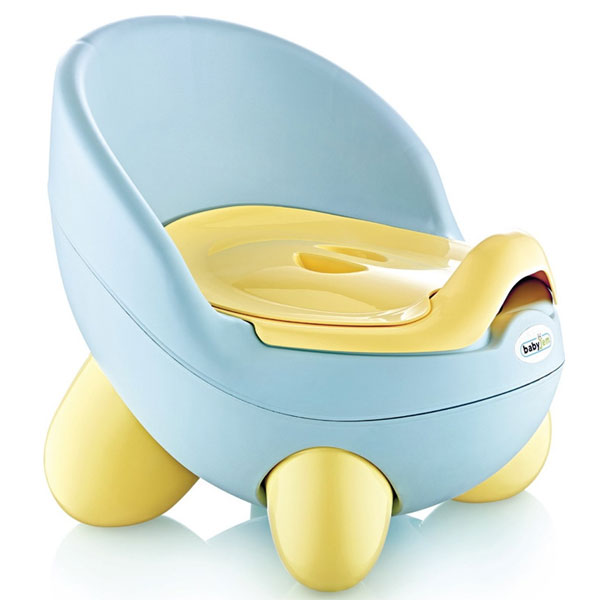 Noša Potty BabyJem light blue 92-53422 - ODDO igračke
