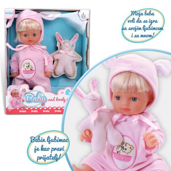 Beba i njen ljubimac Pertini P-0320 - ODDO igračke