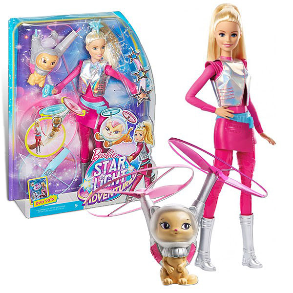 Barbie lutka Star Light Adventure sa maskotom 446DWD24 - ODDO igračke