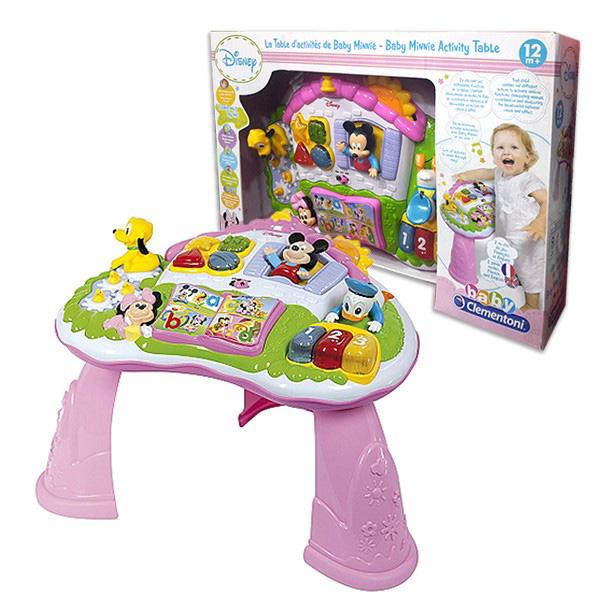 Interaktivni Sto Minnie Clementoni 62293 - ODDO igračke