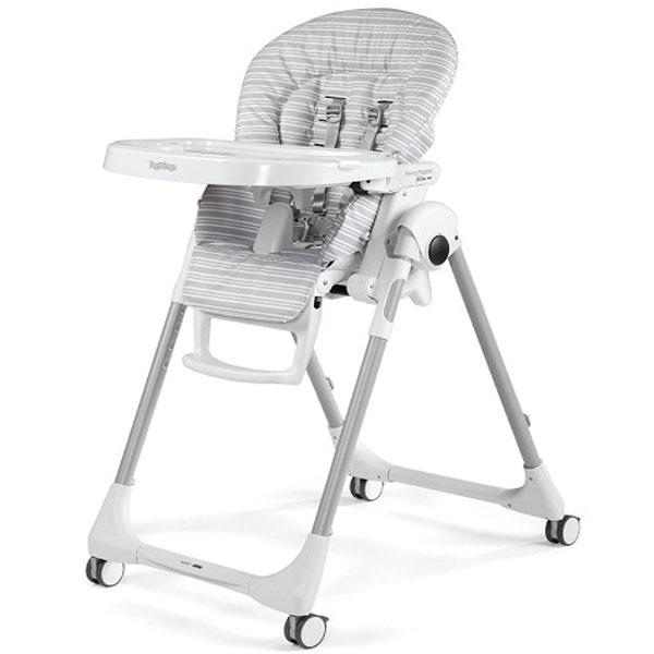 Stolica za hranjenje Prima Pappa Follow Me Linear Grey P3510041598 - ODDO igračke