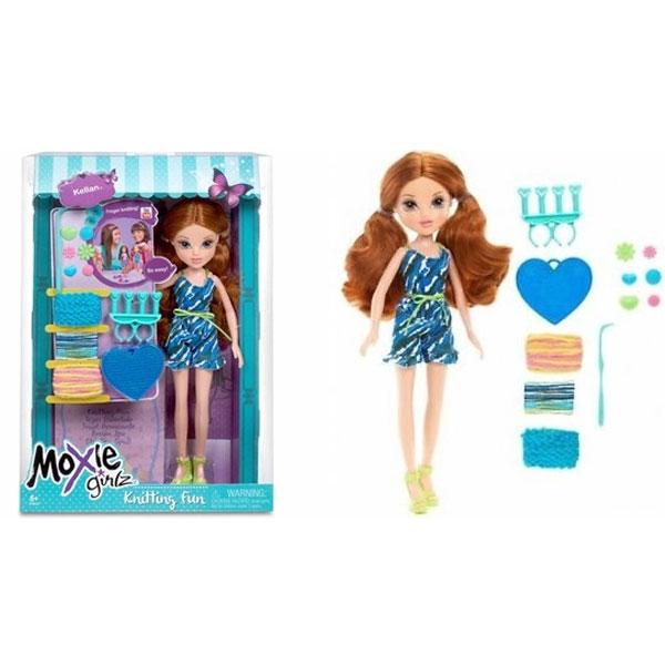 Lutka Moxi Girlz sa dodatkom za pletenje 533450M - ODDO igračke