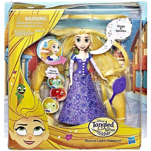 Disney lutka Princess Zlatokosa sa muzikom i svetlosnim efektima B/O DIV 67301 - ODDO igračke