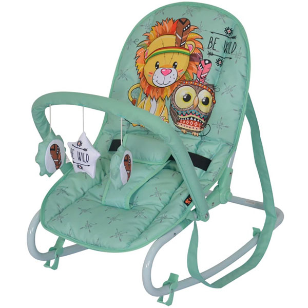 Ljuljaška/ležaljka Top Relax green Indians 10110021920 - ODDO igračke