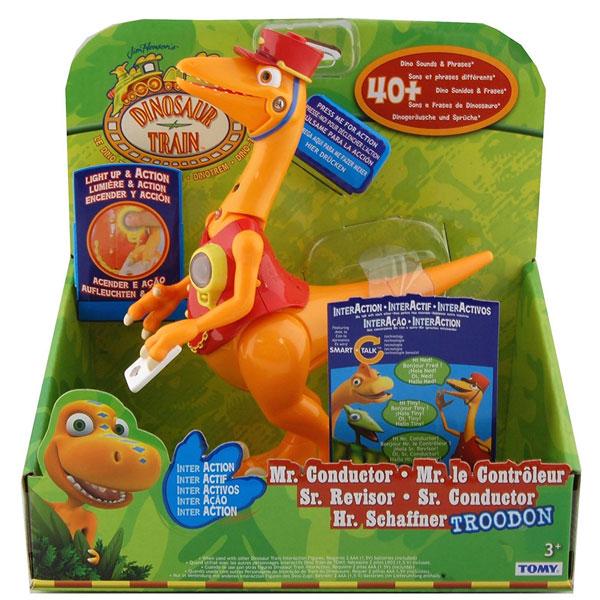 Interaction dinosaurus Mr. Conductor-Trodon 53125 - ODDO igračke