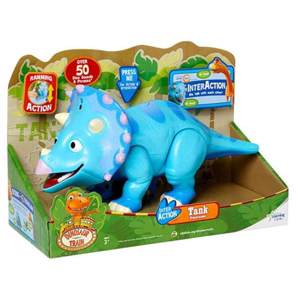 Interaction dinosaurus Tank spanish-Triceratops 53106 - ODDO igračke