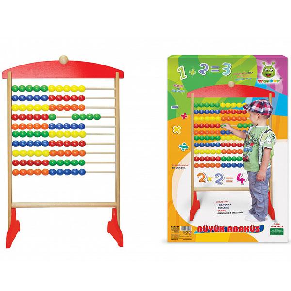 Računaljka drvena 500319 - ODDO igračke
