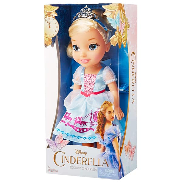 Disney lutka Cinderella Toddler 36cm 86893 - ODDO igračke