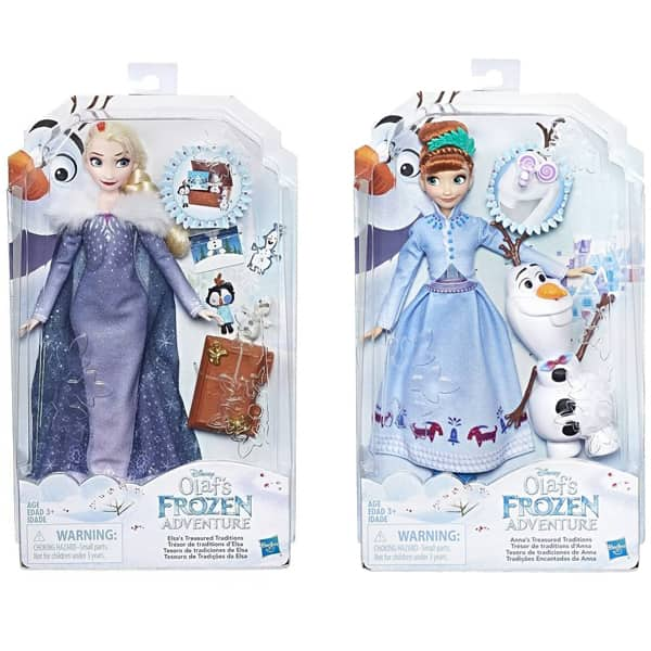 Frozen lutka Elsa and Anna Storytelling Fashion C3382 - ODDO igračke