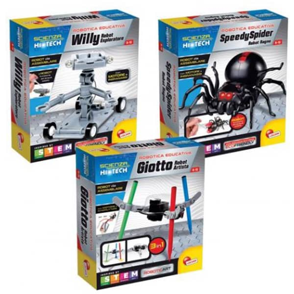 Lisciani Edukativni set Science Hi Tech Willy Robot 73238 - ODDO igračke